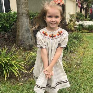 Other - Smocked by Stellybelly Turkey Dress